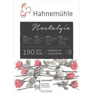 Hahnemühle Nostalgie Skizzenblock - 190 g/m² -...