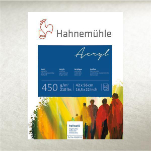 Hahnemühle Acrylmalkarton - 450 g/m² - 36 x 48...