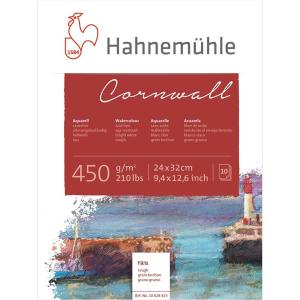 Hahnemühle Cornwall Aquarellblock - 450 g/m² -...
