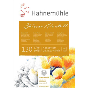 Hahnemühle Skizze/Pastell-Block - 130 g/m² -...