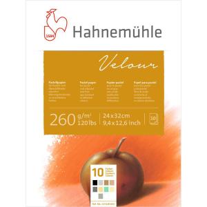 Hahnemühle Pastellpapier Velour Block - 260...