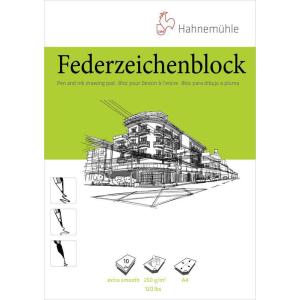 Hahnemühle Federzeichenblock - 250 g/m² - DIN...