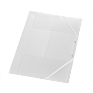 herlitz Gummizugmappe - DIN A4 - PP - transluzent