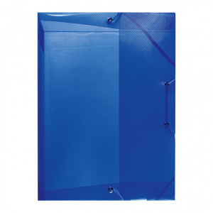herlitz Heftbox - DIN A4 - PP - transluzent blau