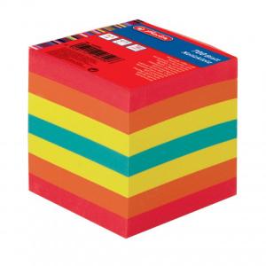 herlitz Notizklotz - 9 x 9 cm - farbig - 700 Blatt