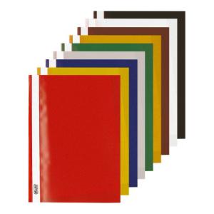 herlitz Schnellhefter - DIN A4 - PP - farbig sortiert -...