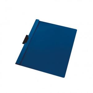 herlitz Klemmhefter - DIN A4 - dunkelblau - PVC - 30 Blatt