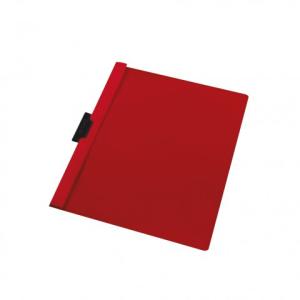 herlitz Klemmhefter - DIN A4 - rot - PVC - 30 Blatt