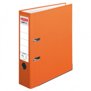 Herlitz Ordner maX.file protect A4 8cm orange