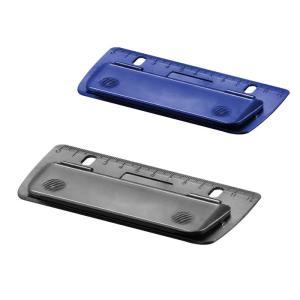 herlitz Mini-Taschenlocher - 2 Blatt - farbig sortiert