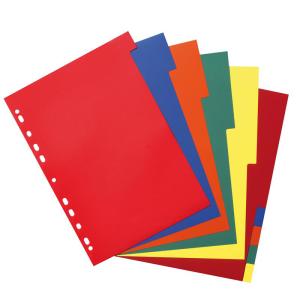 herlitz Register - DIN A4 - PP - 2 x 5 Farben