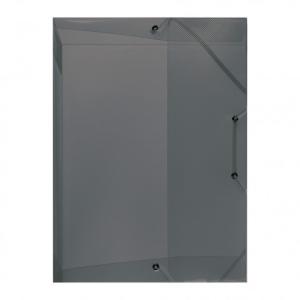 herlitz Heftbox - DIN A4 - PP - transluzent grau
