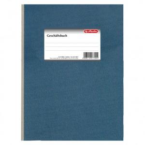 herlitz Geschäftsbuch - DIN A4 - liniert - 96 Blatt