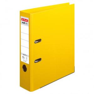 herlitz maX.file protect plus Ordner - DIN A4 - 8 cm - gelb