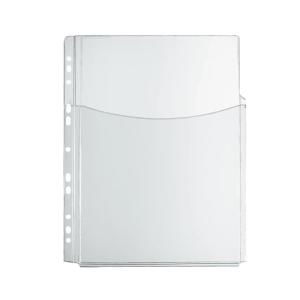 herlitz Katalog-Tasche - DIN A4 - PVC - transparent