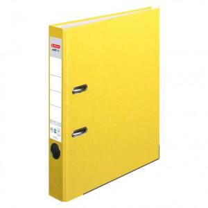 herlitz maX.file nature plus Ordner - DIN A4 - 5 cm - gelb