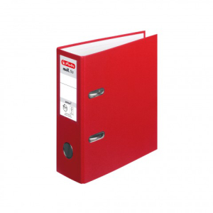 herlitz maX.file protect Ordner - DIN A5 hoch - 8 cm - rot