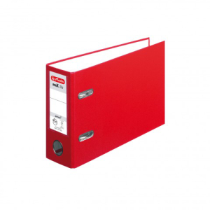 herlitz maX.file protect Ordner - DIN A5 quer - 8 cm - rot