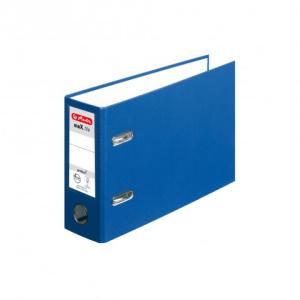 herlitz maX.file protect Ordner - DIN A5 quer - 8 cm - blau