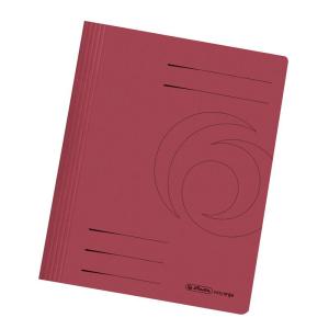 herlitz Schnellhefter - DIN A4 - Manila-Karton - bordeaux