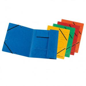 herlitz Einschlagmappe mit Gummizug - DIN A4 - Karton -...