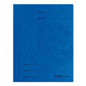 herlitz Spiralhefter - DIN A4 - Quality-Karton - blau