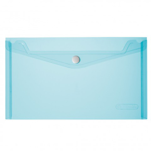 herlitz Dokumententasche - DIN A5 - PP - transparent blau...