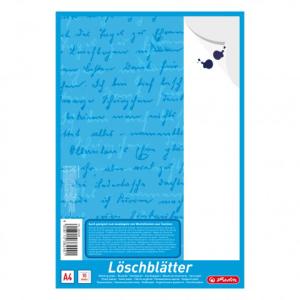 herlitz Löschblattblock - DIN A4 - weiß - 10...