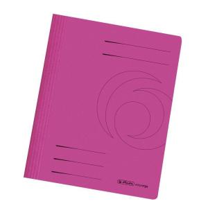 herlitz Schnellhefter - DIN A4 - Manila-Karton - pink