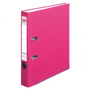 herlitz maX.file protect Ordner - DIN A4 - 5 cm - pink