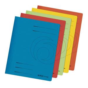 herlitz Schnellhefter - DIN A4 - Manila-Karton - farbig...
