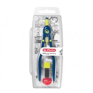 herlitz Schnellverstellzirkel my.pen - blau/lemon