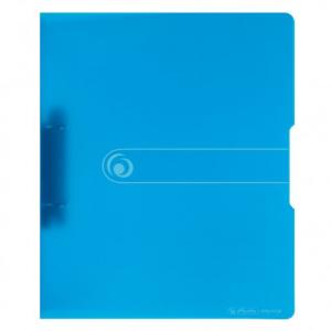 herlitz Ringbuch - DIN A4 - 2,7 cm - transparent blau