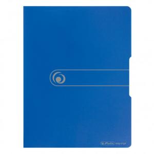herlitz Sichtbuch - DIN A3 - PP - 20 Hüllen - blau