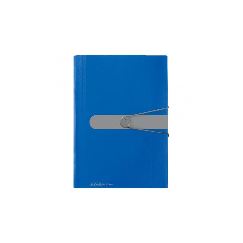 herlitz fächermappe • a4 • 12 fächer • blau 577