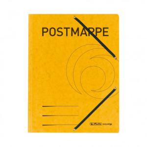 herlitz Einschlagmappe mit Gummizug - DIN A4 - Postmappe...