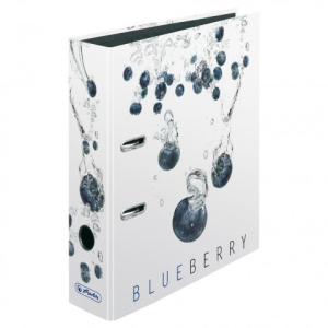 Herlitz Ordner maX.file A4 Fresh Fruit Blaub