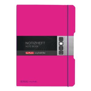 herlitz my.book flex Notizheft - DIN A4 - pink -...
