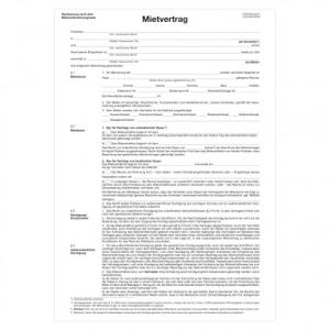 herlitz Mietvertrag für Wohnräume - DIN A4 -...
