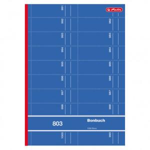 herlitz Bonbuch 803 - A4 - 1000 Abrisse