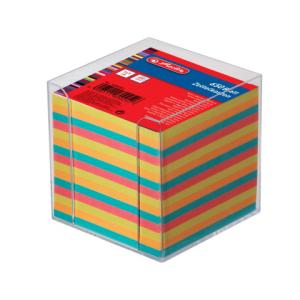 herlitz Zettelkasten - 9 x 9 cm - farbig gefüllt -...