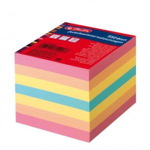 herlitz Zettelkasteneinlage - 9 x 9 cm - farbig - 550 Blatt