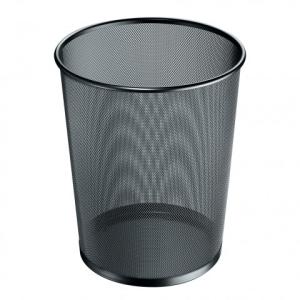 herlitz Papierkorb - 18 Liter - Manhattan - schwarz