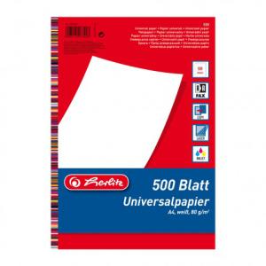 herlitz Universalpapier - DIN A4 - 80 g/m² - 500 Blatt