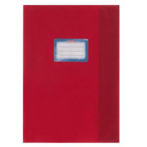 herlitz Hefthülle - DIN A4 - Baststruktur - rot