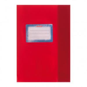 herlitz Hefthülle - DIN A5 - Baststruktur - rot
