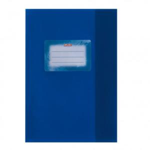 herlitz Hefthülle - DIN A5 - Baststruktur - dunkelblau