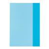 herlitz Hefthülle - DIN A5 - transparent - blau