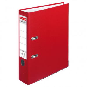 Herlitz Ordner maX.file protect A4 8cm rot
