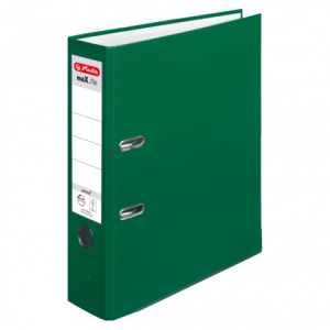 herlitz maX.file protect Ordner - DIN A4 - 8 cm - grün